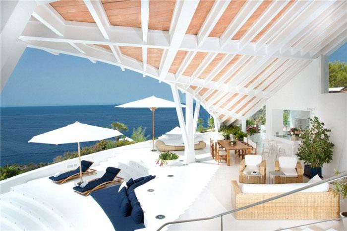 65790797293 Lyxigt hus med vacker utsikt och vita rum i Cala Marmacen