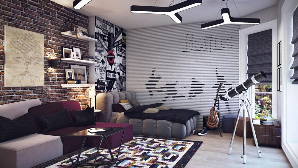Att dekorera ett tonårsrum ska vara enkelt med denna typ av inspiration 1 Att dekorera ett tonårsrum ska vara enkelt med denna typ av inspiration