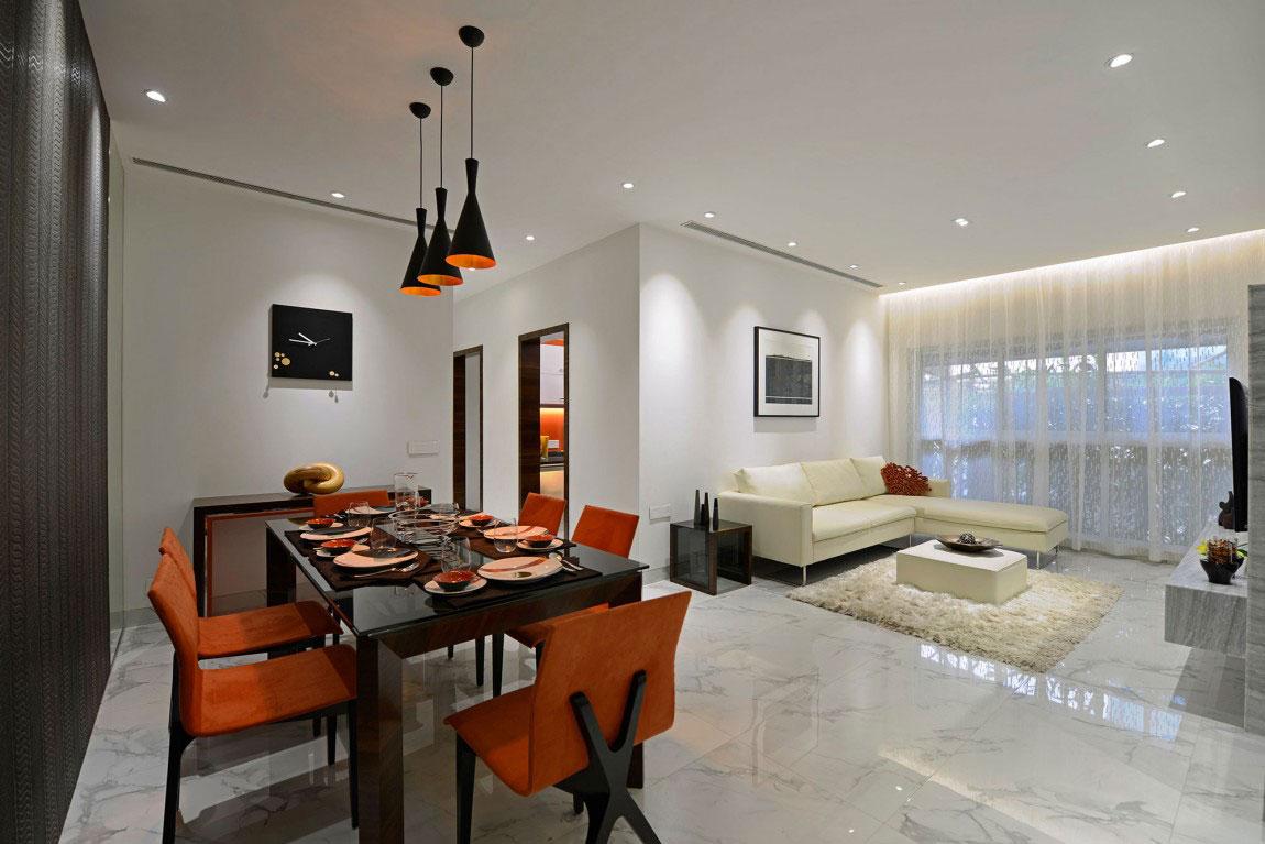 Modern bostad som har ett riktigt iögonfallande utseende och känsla 1 Modern bostad som har ett riktigt iögonfallande utseende