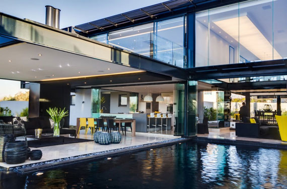 b1 Modern byggnad Ber House designad av Nico van der Meulen Architects