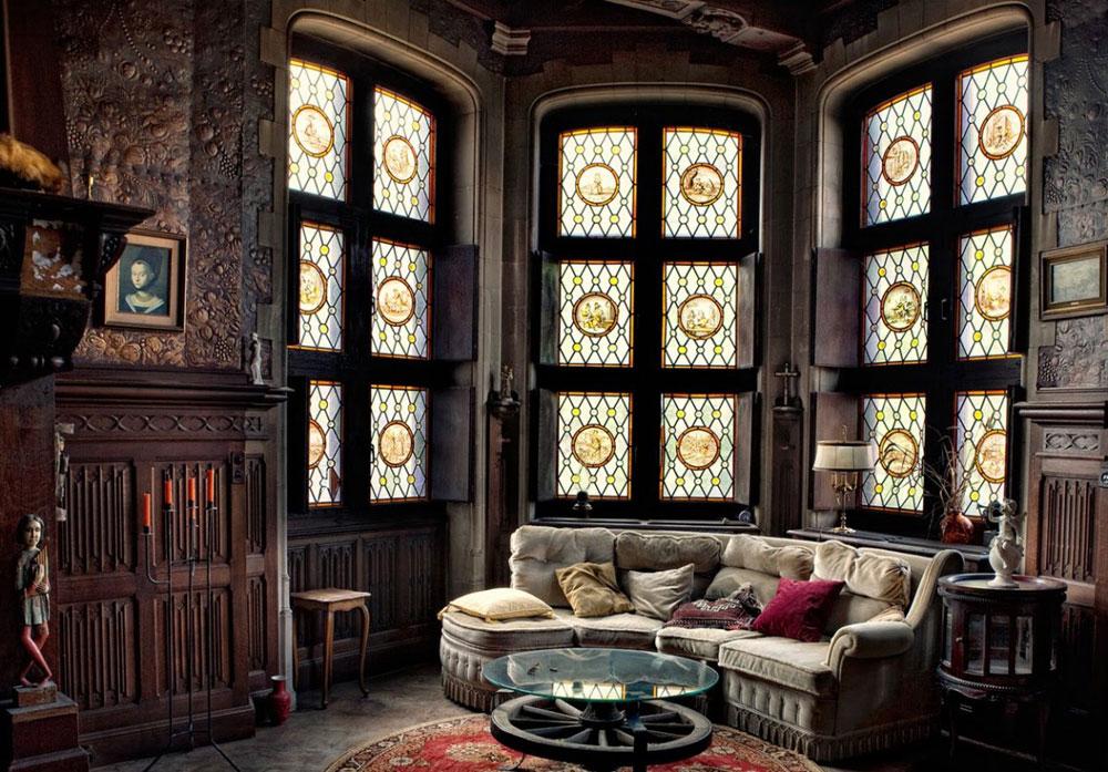 Modern-gotisk-inredning-design-med-dess-egenskaper-och-möbler-5 Modern gotisk inredning med dess egenskaper och möbler