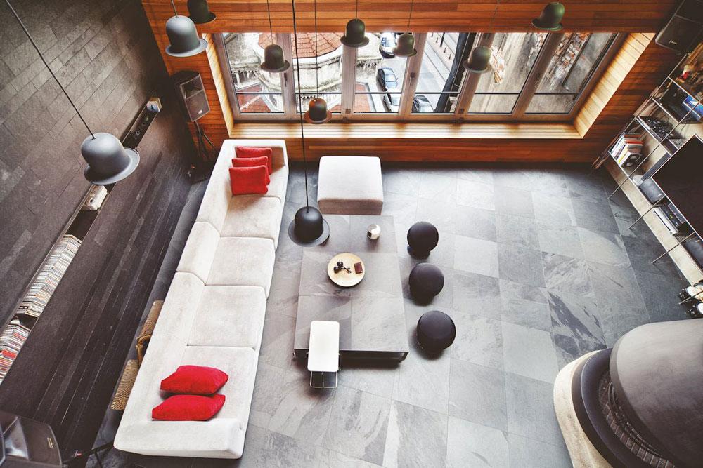 Modern inredning för lägenheter av begåvade designers 11 Modern inredning för lägenheter av begåvade designers