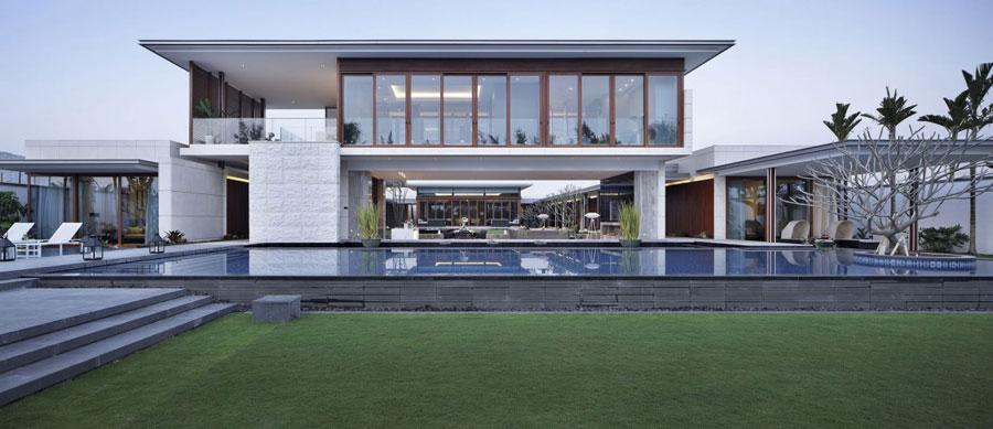 1 modern kinesisk villa med lyxiga detaljer Designad av Gad
