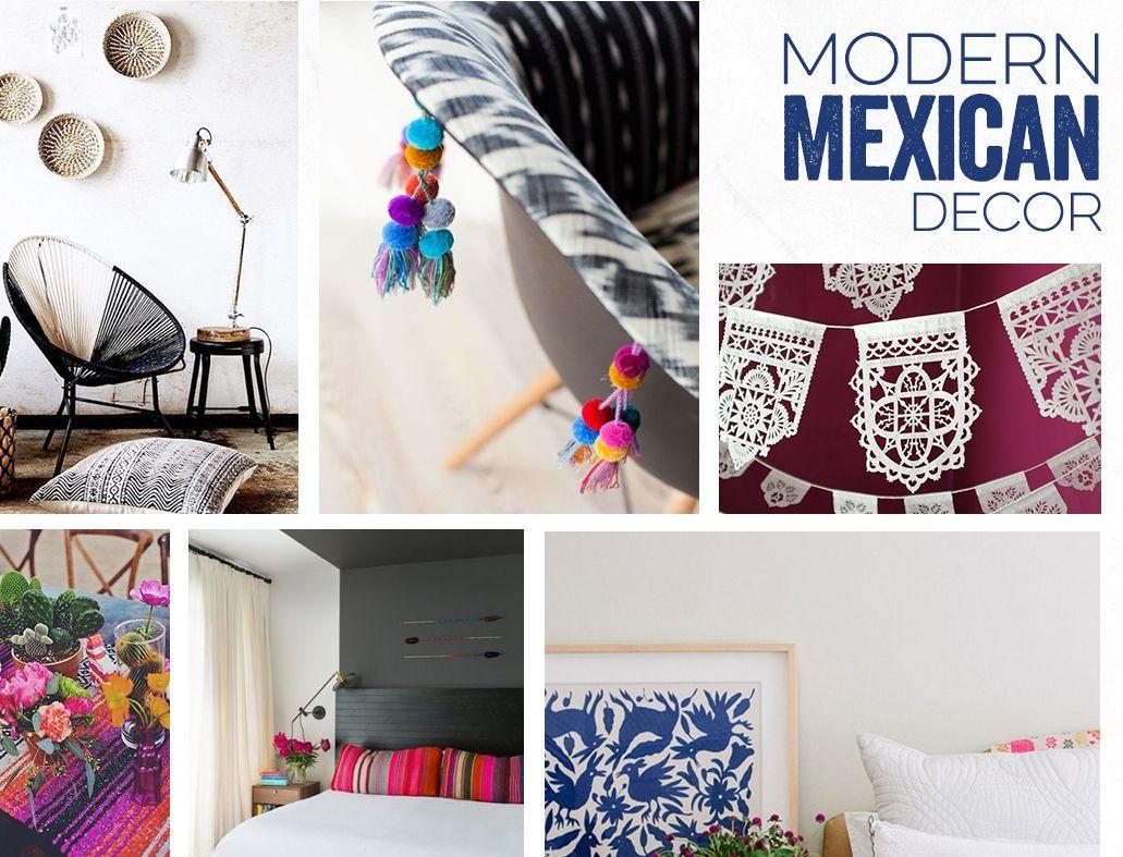 Modern mexikansk inredning