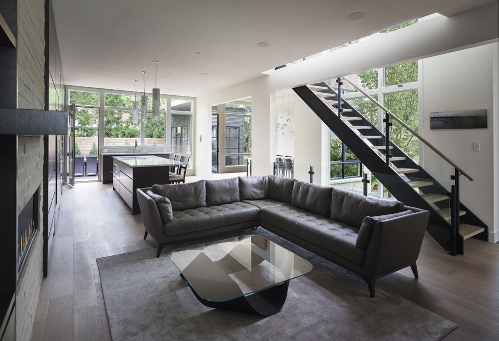 Modern och elegant grå vardagsrumsinredning-3 Modern och elegant grå vardagsrumsinredning