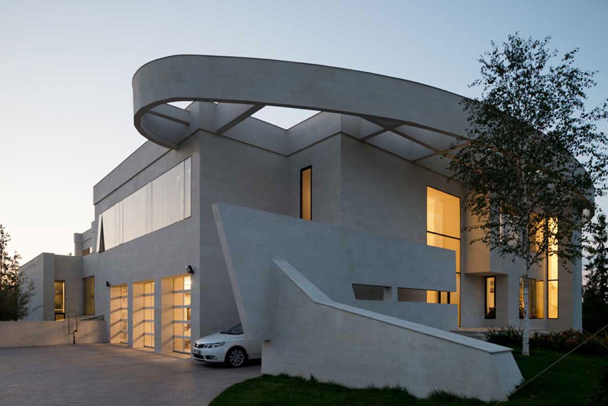 Modern villa nära Moskva, designad av SL-Project-1 Modern villa nära Moskva, designad av SL * Project