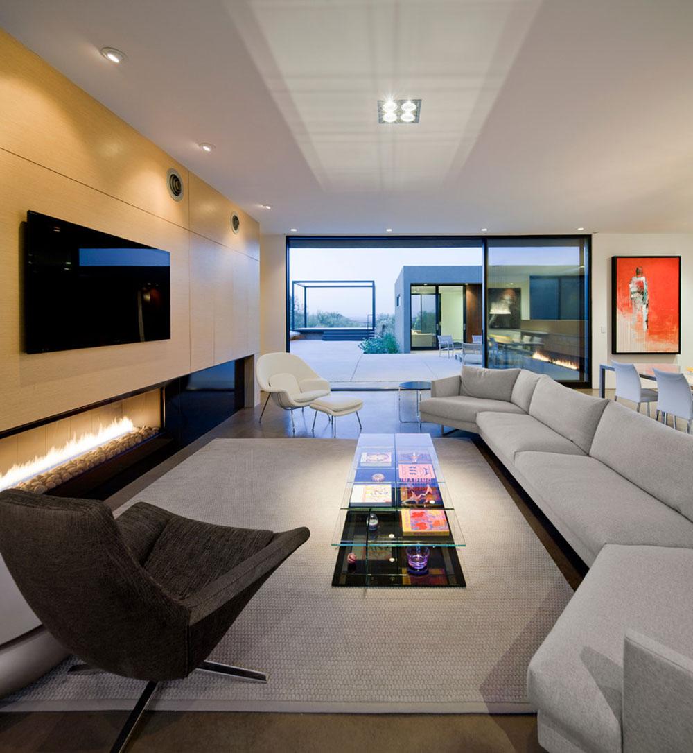 Levin-Residence-Ibarra-Rosano-Design-Architects Moderna interiördesignstilar
