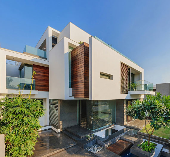 52877925750 Modernt, elegant och termiskt effektivt hem i New Delhi