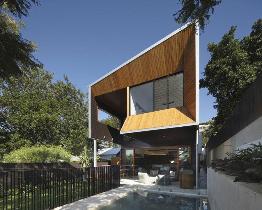 Ett modernt hem byggt med beundransvärt hantverk och omsorg