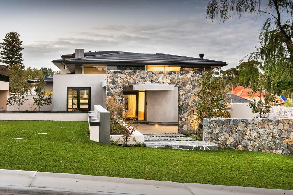 Modernt hus med ett speciellt utseende 1 Modernt hus med ett speciellt utseende