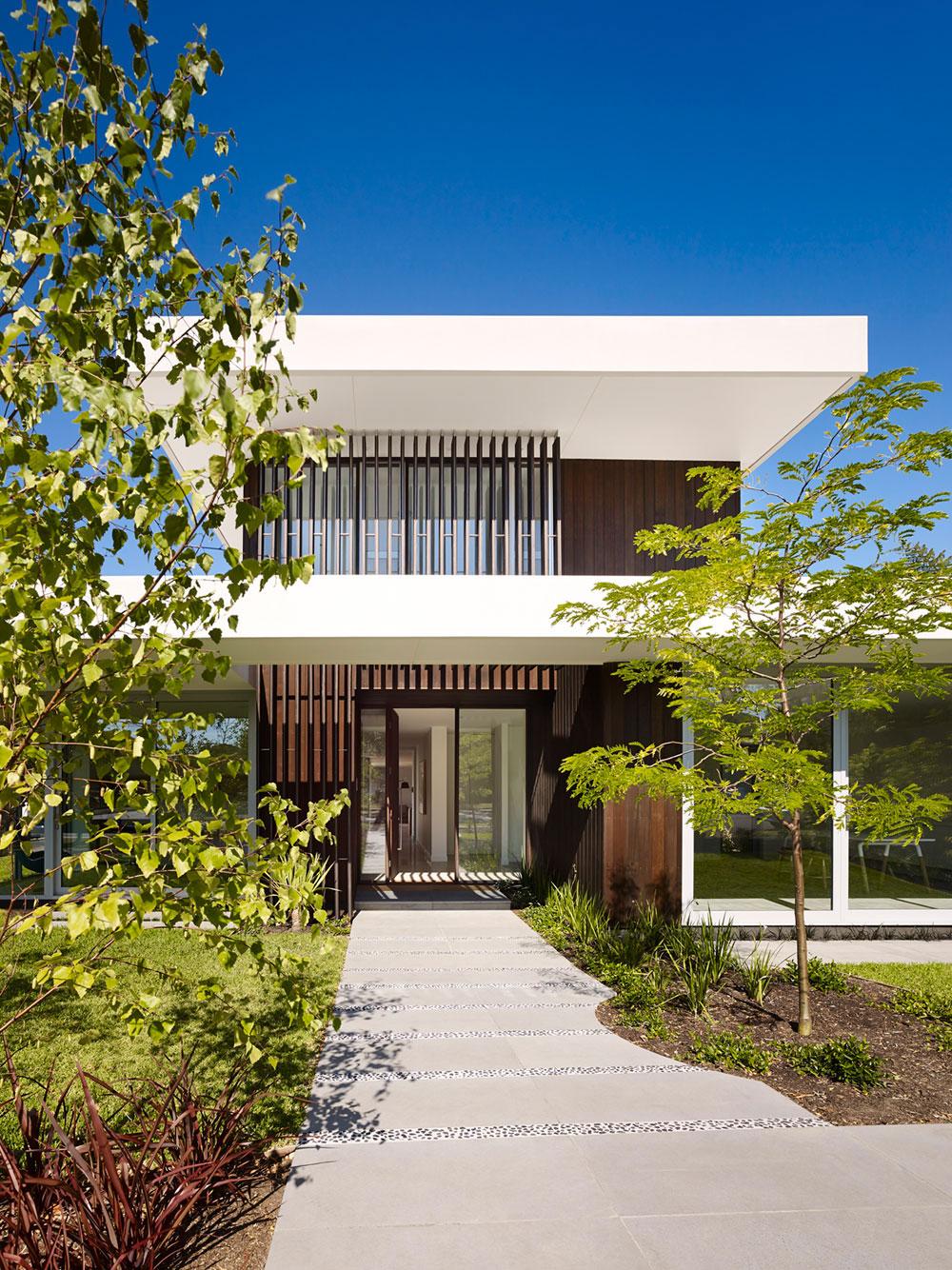 Modernt hus som är vackert 1 Modernt hus som är vackert både ute och inne
