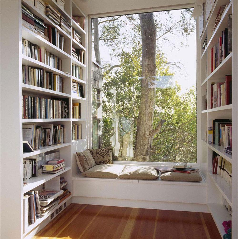 vit-enkel-bokhylla-kil-hörn-hörn Olika möbler för din exklusiva lägenhet på Malta