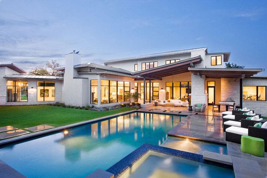 Blanco-House-av-James-D.-LaRue-Architects Om du någonsin utformar ditt eget hus, gör det med en arkitektur som den här