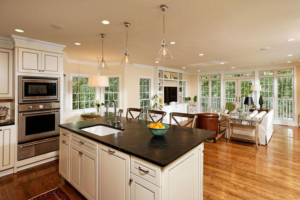Öppna kök och vardagsrumsdesignidéer1 Öppna kök och vardagsrumsdesignidéer