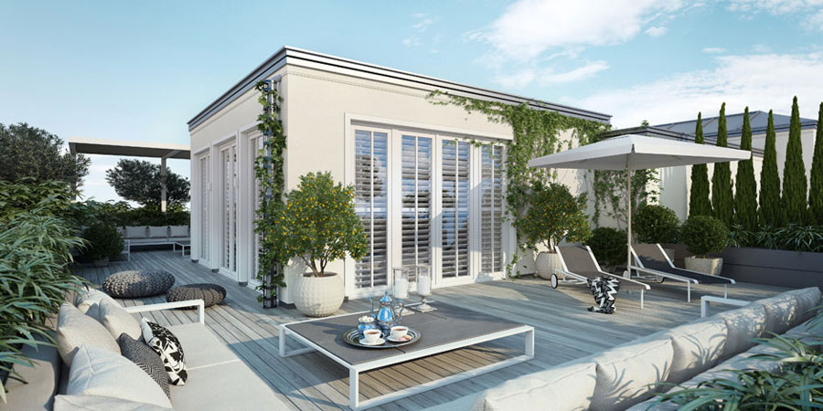 1 Penthouse designinspiration från Ando Studio