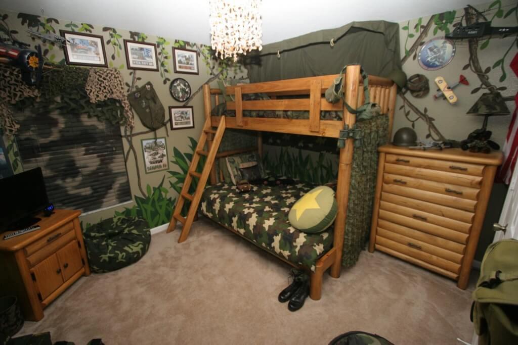 Professionellt inspirerade pojkar sovrum