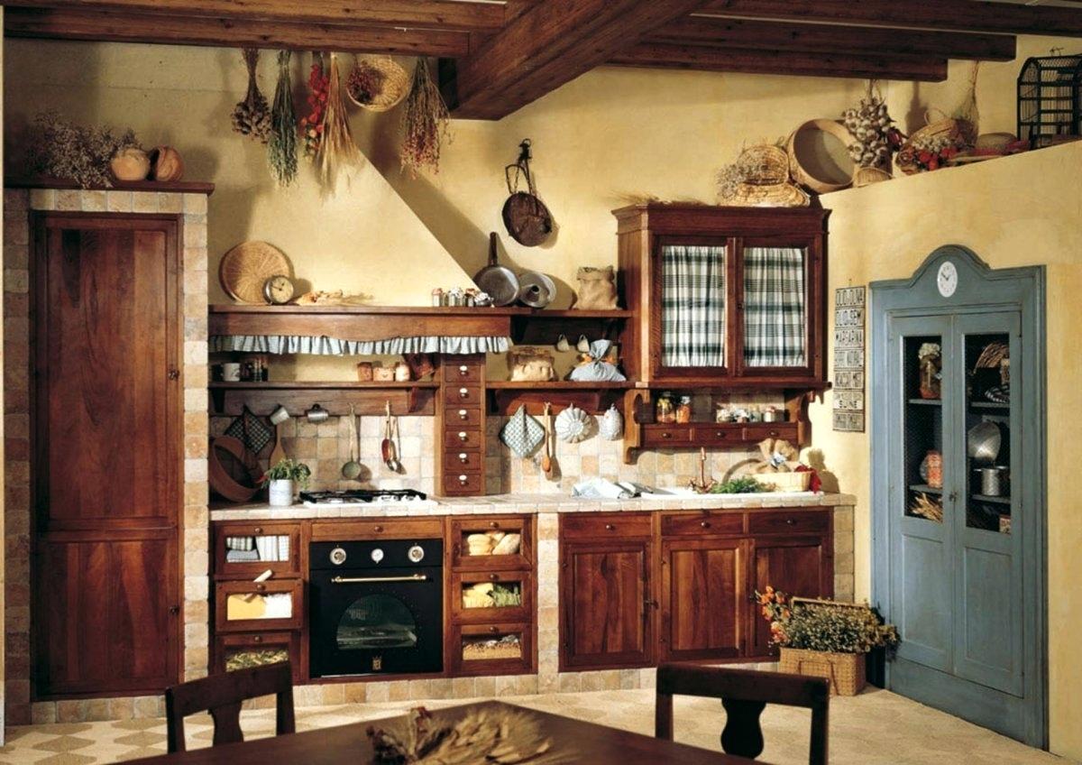 Blygsamt primitivt kök