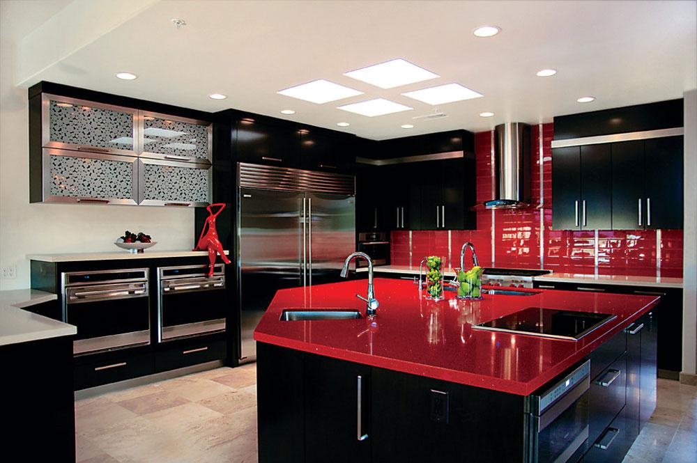 Rysso-Peters-by-Rysso-Peters-Red köksdesign: idéer, väggar och dekor