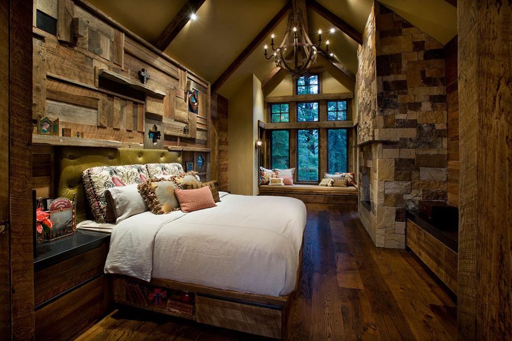Rustik-sovrum-design-idéer-som-utstrålar-komfort-4 Rustik-sovrum-design-idéer-som-utstrålar komfort