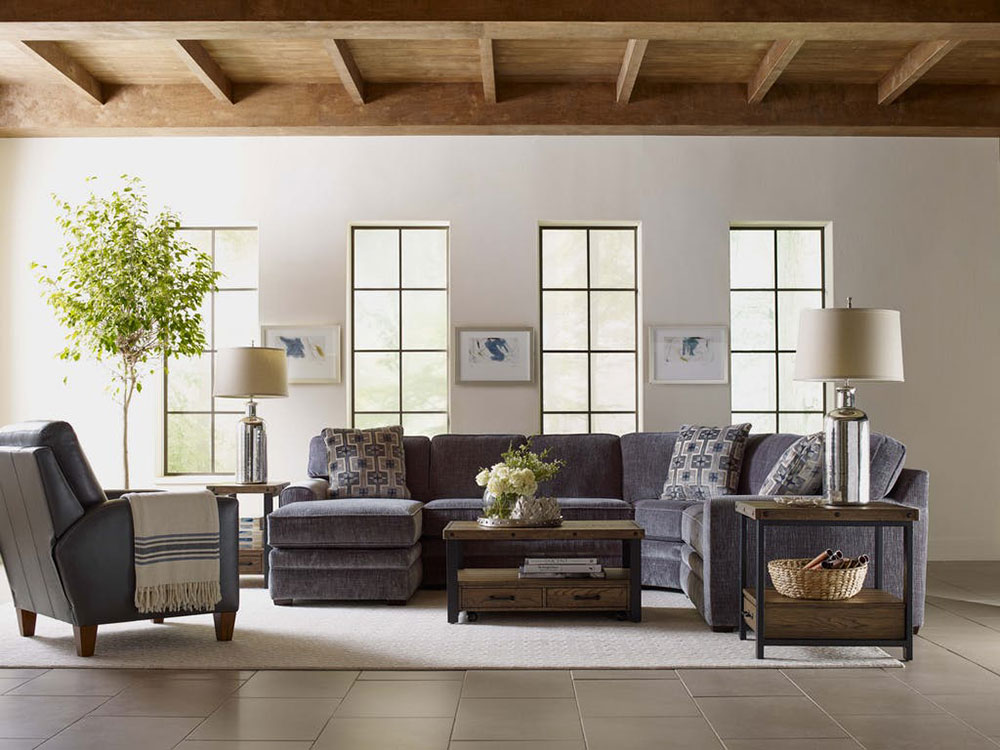 Zola-Sectional-by-England-Furniture Rustic Living Room Furniture Ideas