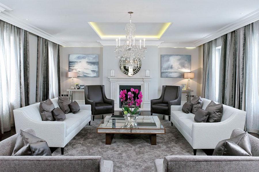 1 elegant brittiskt hem med rymlig och elegant inredning