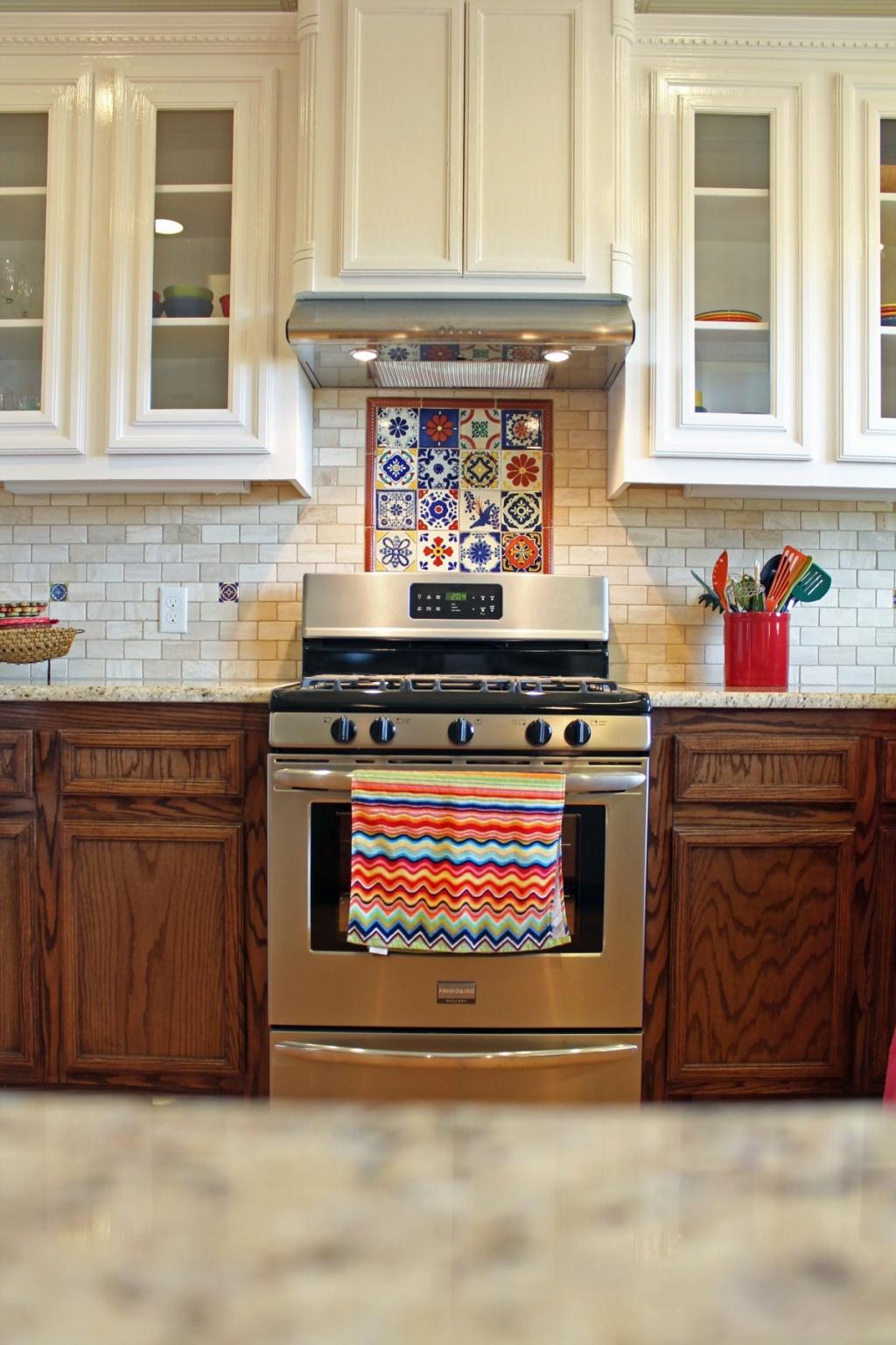 Färgad köksredskapshållare