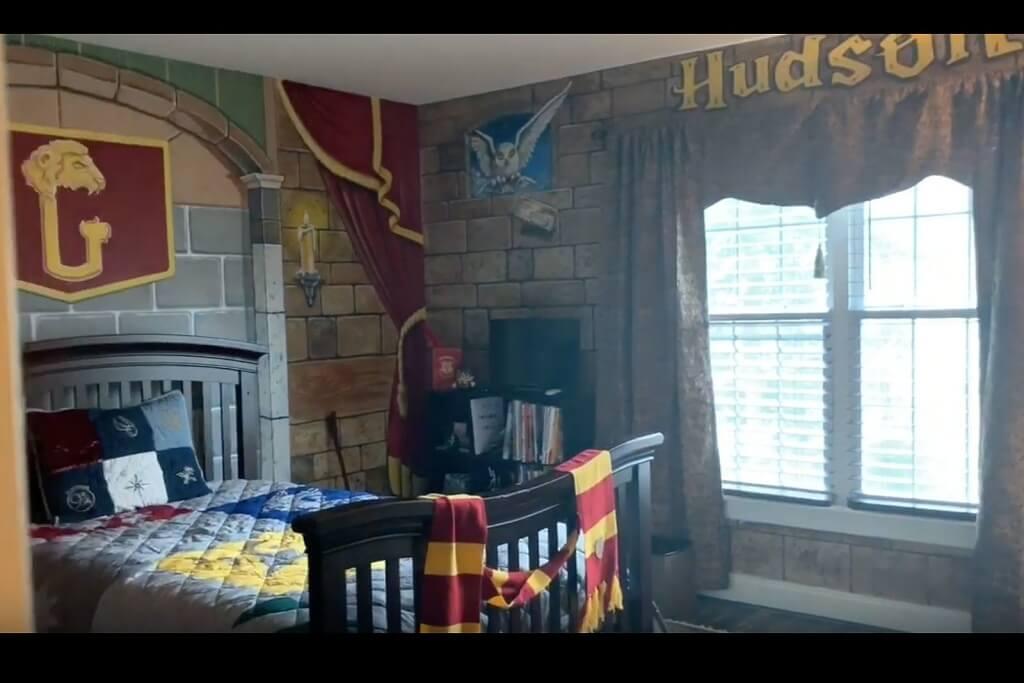 Trevligt Harry Potter-sovrum