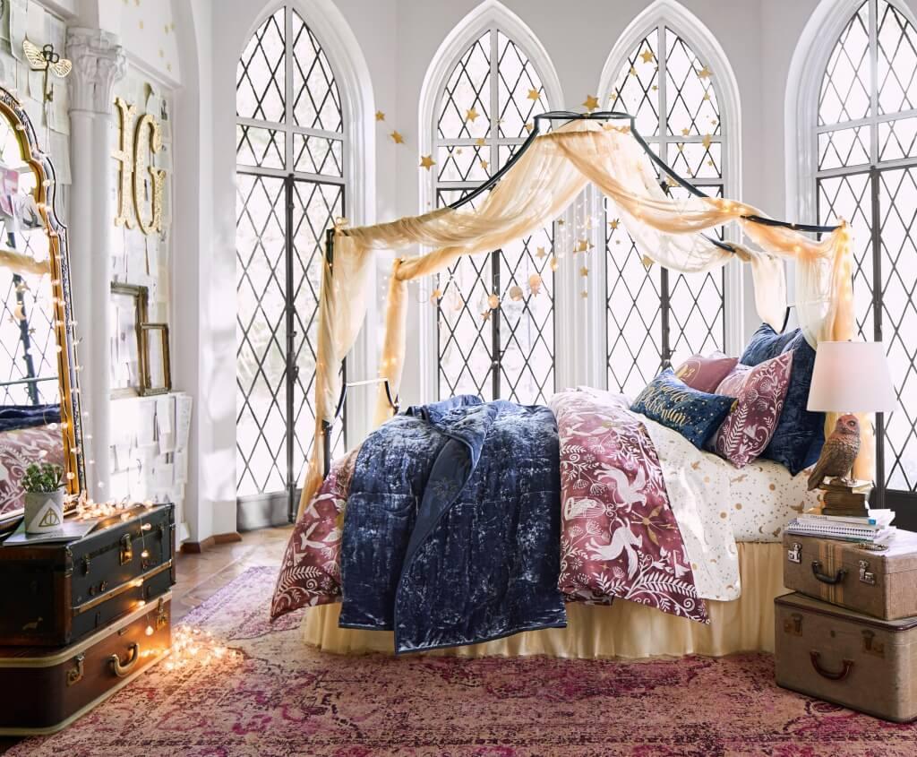 Färgglatt Harry Potter-sovrum