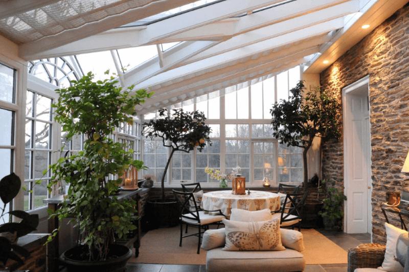 Ny vinterträdgård
