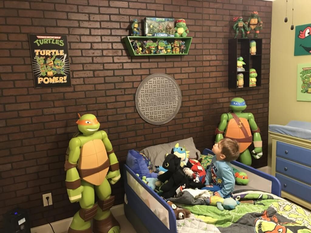 Fantastiskt superhjälte sovrum