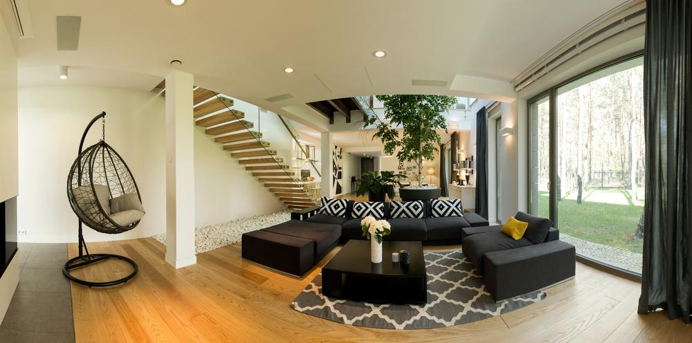 Liggande säte Black Couch Design