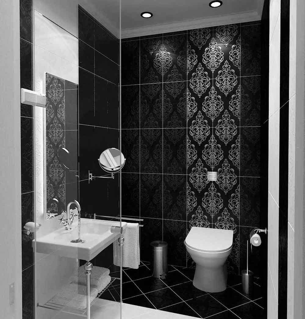Ta en titt på dessa svarta badrumsinteriörer-1 Ta en titt på dessa svarta badrumsinredning