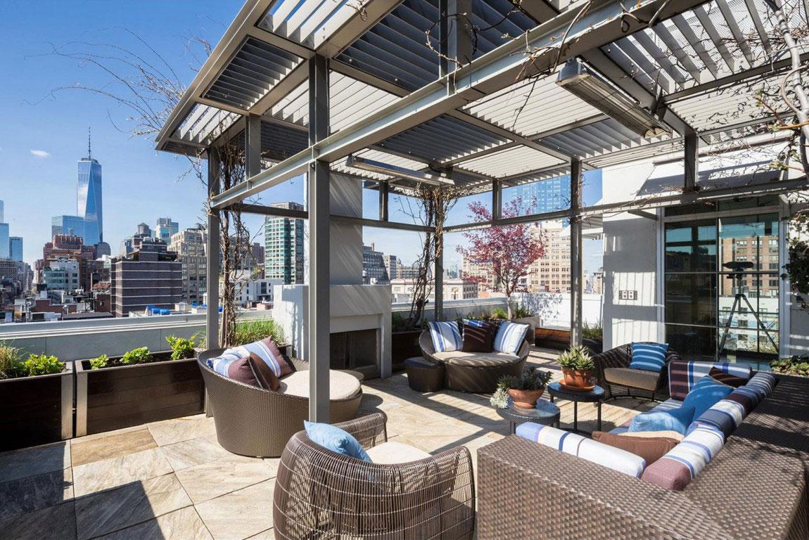 Penthouse-BA-högkvalitets New York Property-1 Penthouse B, en högkvalitativ fastighet i New York