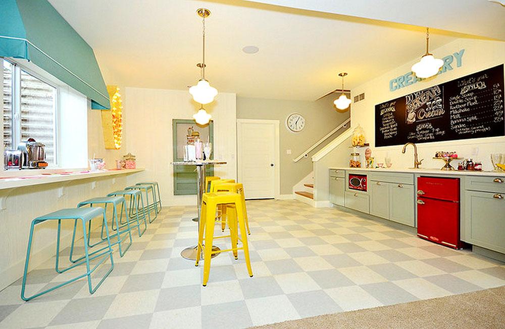 Fantastiskt färgschema-för-liten-glass-shop-design-med-bar-idé-och-trappor-genom-levande-och-bygga-union-of-Colorado-Springs Topptips för vårdekoration