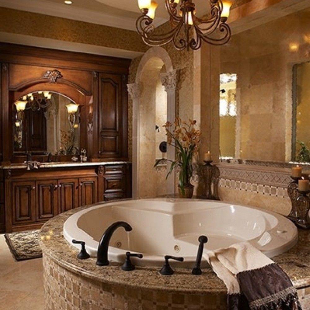 Trevligt toskanskt badrum