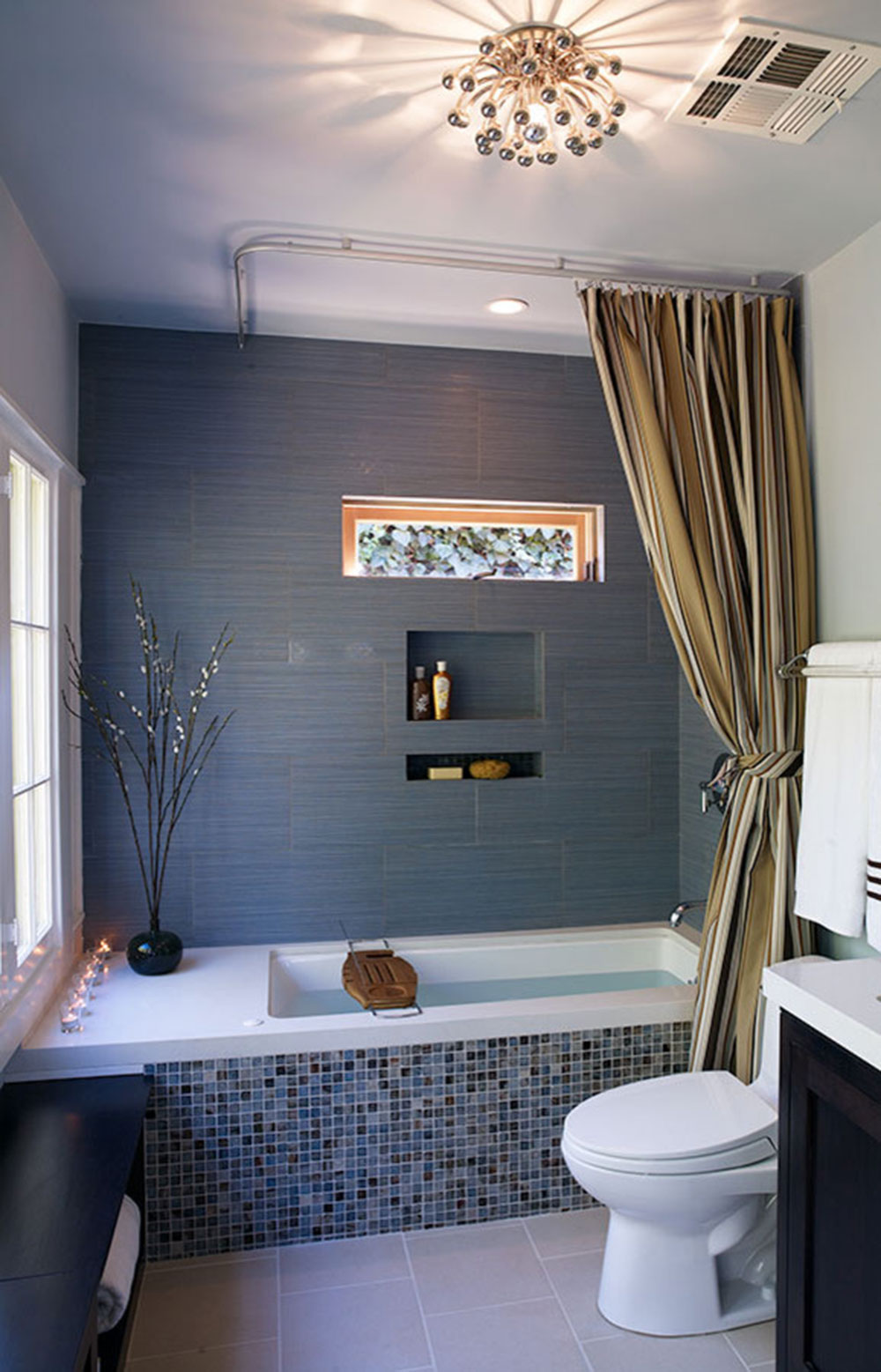 Förbättra ditt badrumsutseende med trendiga duschdraperier13 trendiga duschdraperier för ditt badrum