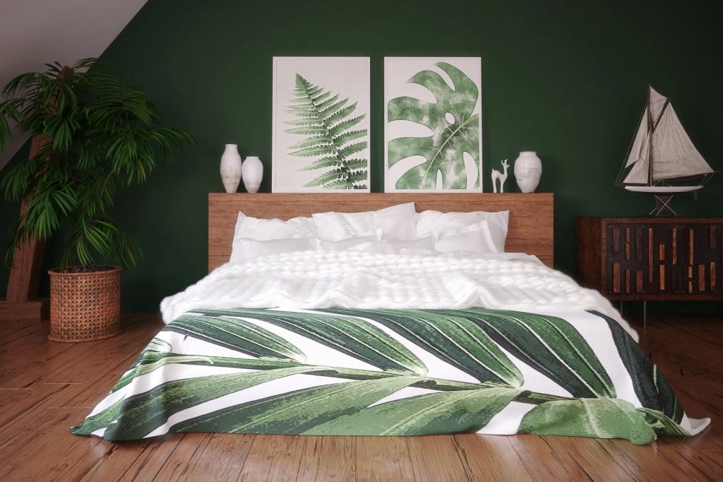 Tyst tropiskt sovrum