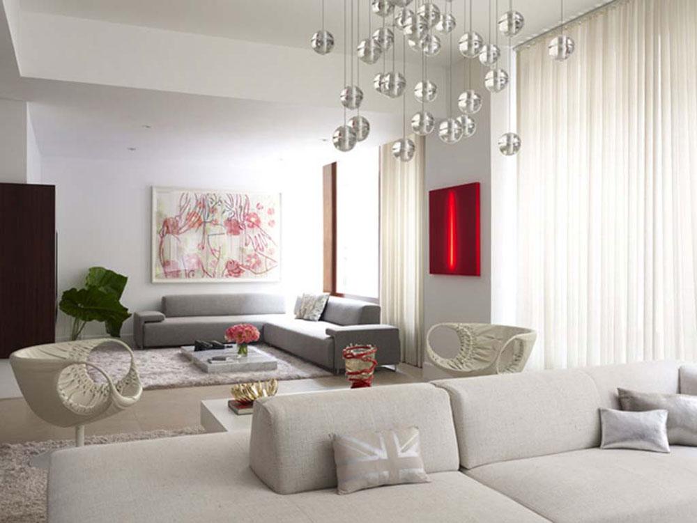 Undvik folkmassorna med minimalistisk stil 1 Undvik trånga interiörer med minimalistisk stil