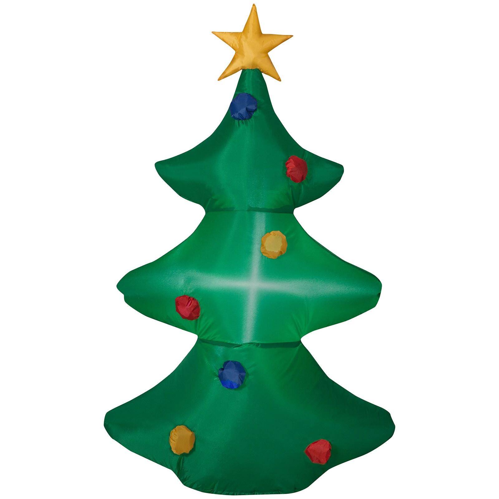 Uppblåsbar julgran