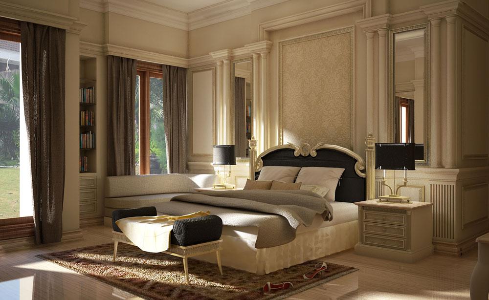 Vägg-klassisk-vägg-dekoration-lyx-klassisk-sovrum-vägg-enheter-för-europeisk-sovrum-inredning-med-par-säng-2-låda-skrivbord-lyx-klassisk-säng väggbeklädnad idéer för att börja veckan