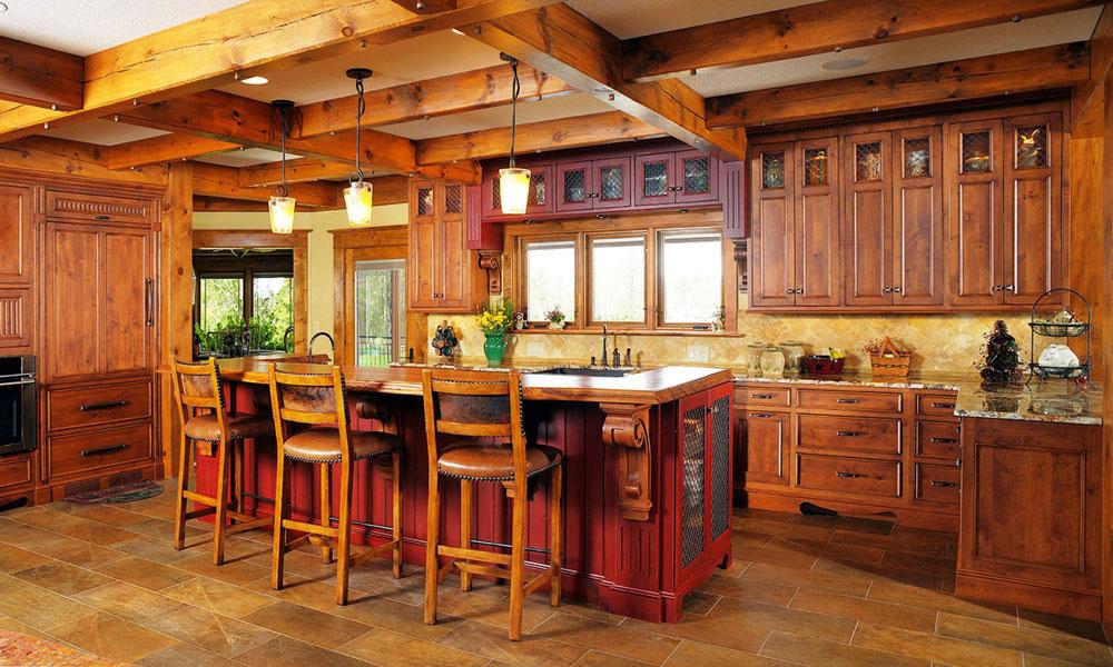 Varm-mysig-och-inbjudande-rustik-kök-interiör-13 Varm, mysig och inbjudande rustik-kök interiör