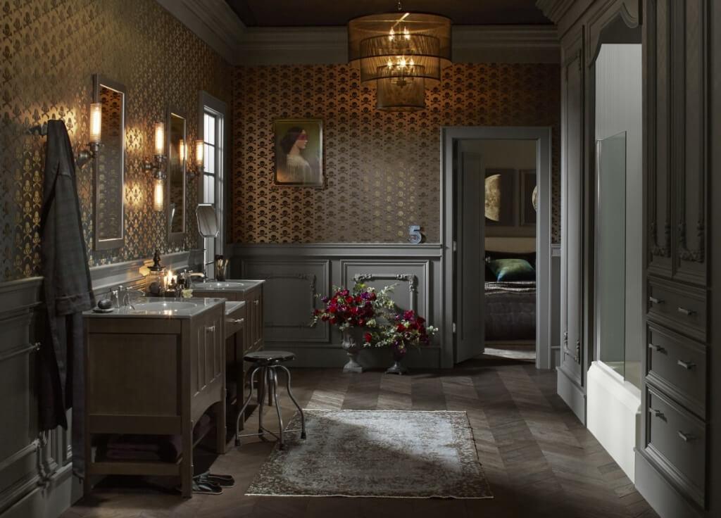 Utmärkt viktorianskt badrum