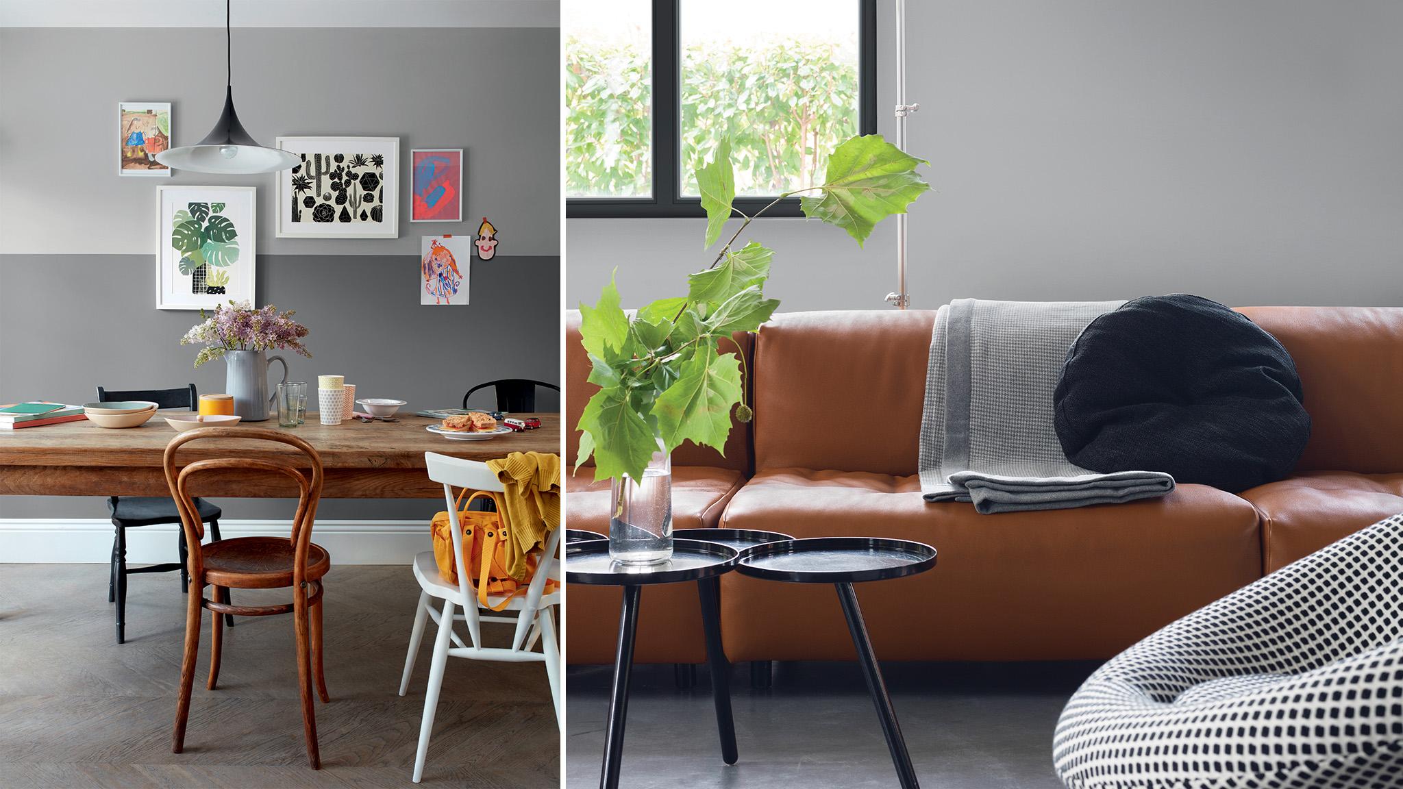 Att dekorera med grått är så enkelt