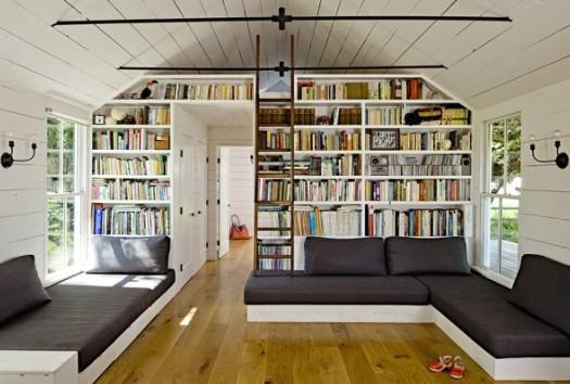 Att skapa ett hembibliotek design garanterar ett avkopplande utrymme