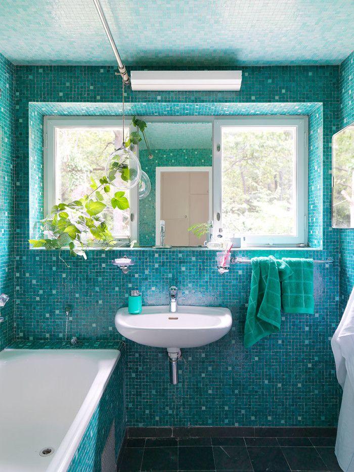 Badrum i bondgården: dekor, idéer, belysning och stil