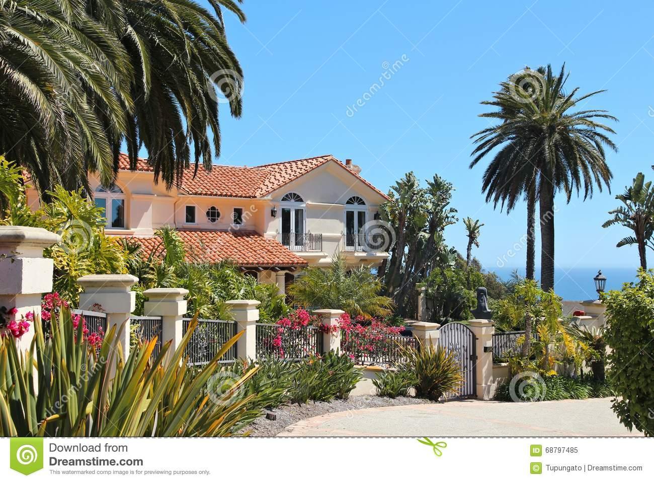 Bedövning strandhus i Malibu Beach, Kalifornien