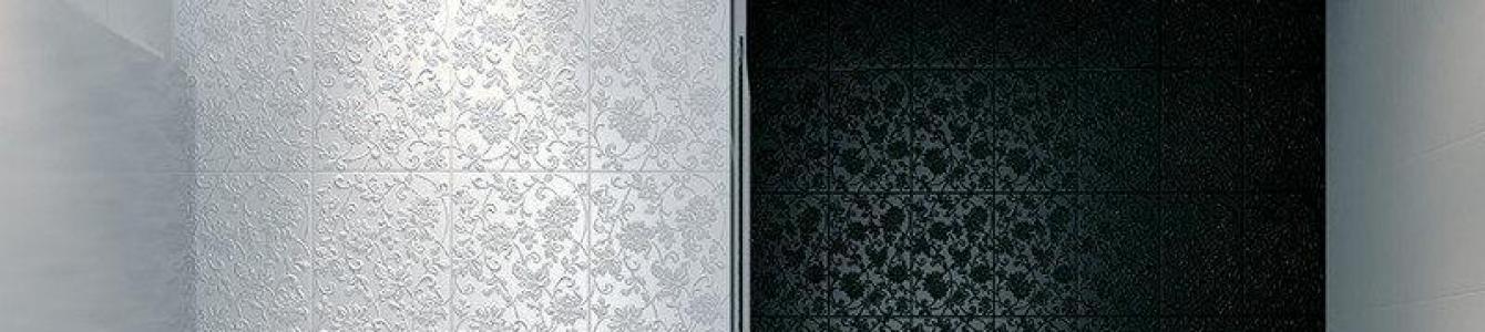 Bilder och exempel på hur man väljer de bästa badrumsplattorna