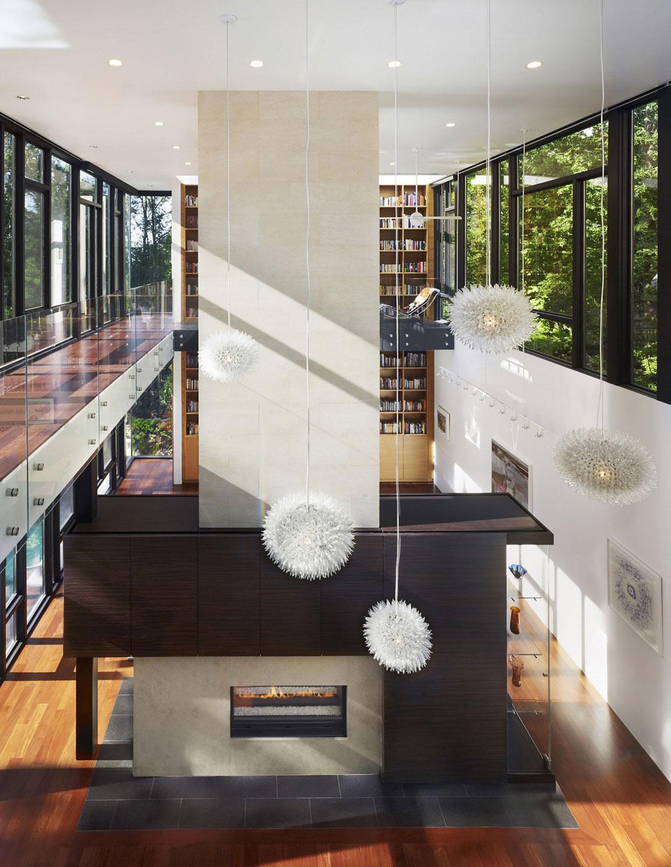 Brandywine House är en inspiration för inredning och arkitektur