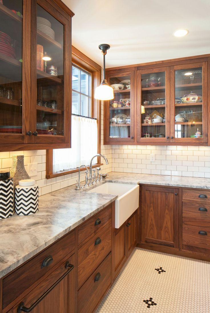 Brown Kitchen Backsplash Idéer