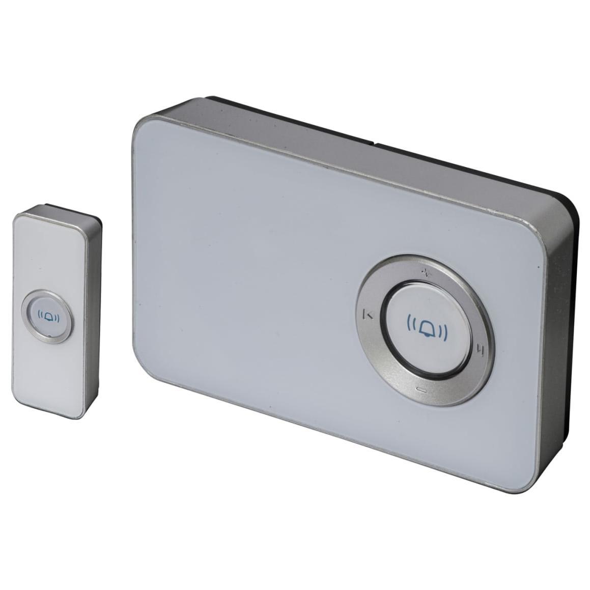 Dekorativ trådlös dörrklocka
